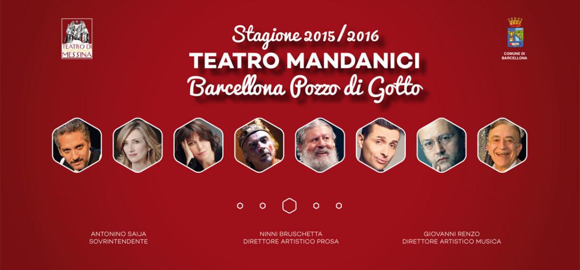 Programma Teatro Mandanici Barcellona 2015-2016