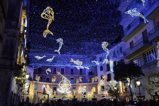 Luci D'Artista Salerno - foto Massimo Pica - Luminarie di Salerno