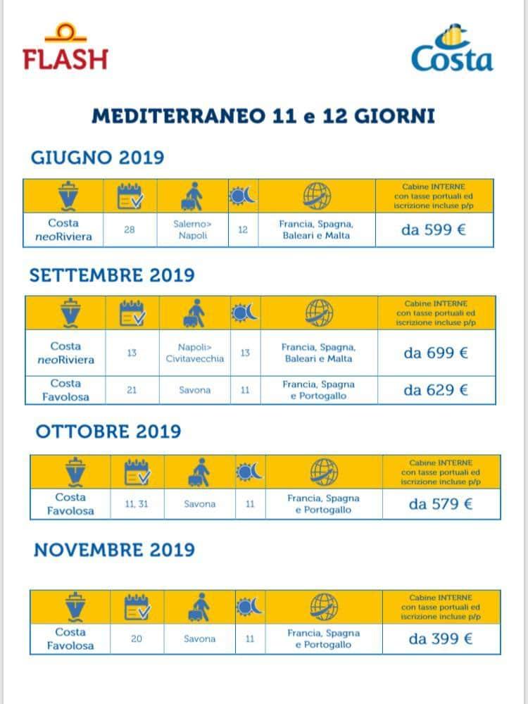 mediterraneo 8 giorni 2